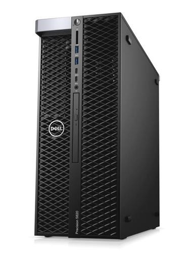 Dell Dell Precision T5820 TKNT5820RKS25A12 W-2225 64GB 512SSD P1000 W10P Masaüstü İş İstasyonu Renkli